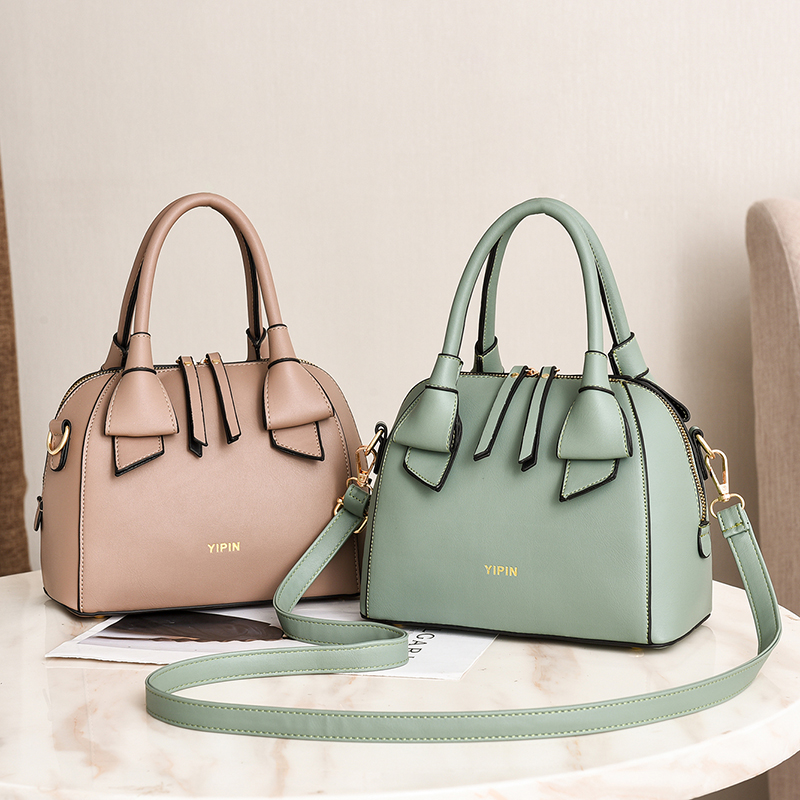 Vento Marea Designer Green Tote Bags For Women 2019 Female Top-handle Bag Girls Simple Shoulder Lady Fashion Shell Handbag
