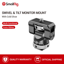 SmallRig Universal Swivel and Tilt Monitor Mount with Cold Shoe For SmallHD/Atomos/Blackmagic Monitor/Screen/EVF Mount  2346