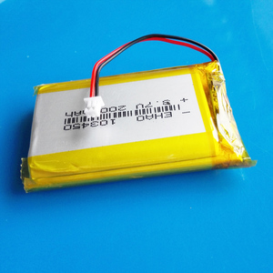 Image 5 - 103450 3.7V 2000mAh lipo פולימר ליתיום נטענת סוללה + jst 1.25mm 2pin תקע עבור MP3 GPS navigator DVD