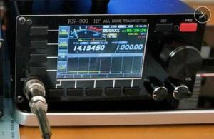 Image 3 - النسخة الإنجليزية KN 990 HF 0.1 ~ 30MHz SSB/CW/AM/FM/IF DSP الرقمي الهواة لحم الخنزير جهاز الإرسال والاستقبال اللاسلكي الطيف + دليل اللغة الإنجليزية
