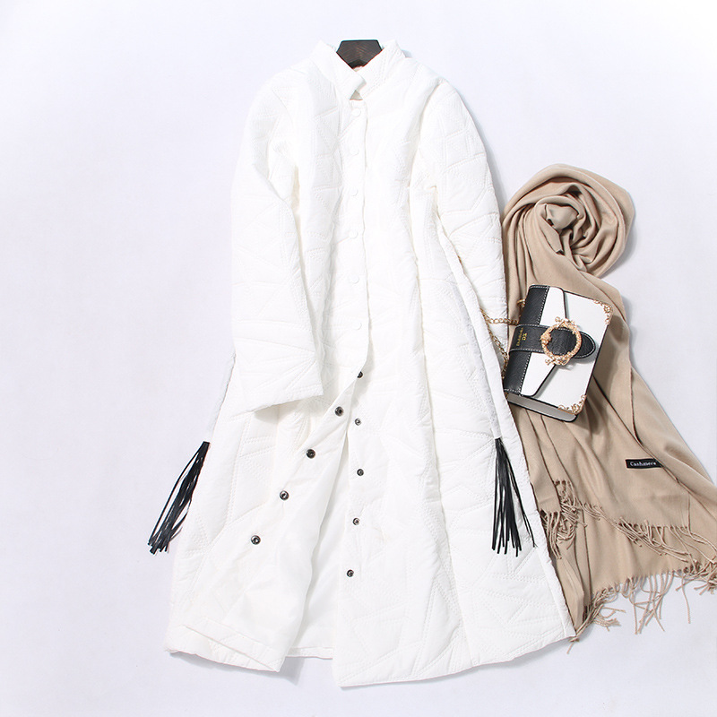 Parka Down Cotton Korean Vintage Coat Female Jacket Winter Coat Women Clothes 2020 Warm Long Tops Manteau Femme ZT4604