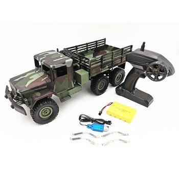 MN77 WPL B16 Ural 1/16 RC Car 6WD Rock Crawler WW2 Army Vehicles 6 Wheel Remote Control Military Truck Toys For Boys VS B36 B24