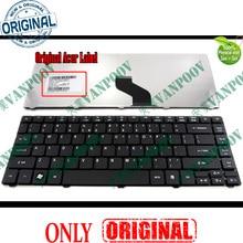 Новая клавиатура для ноутбука США acer Aspire 3810 3410 3820 3810T 4735 4735G 4735Z 4736 4736G 4736Z 4740 4741 4755 черный-V104646AS3