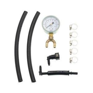 Image 2 - AZGIANT samochód benzyna manometr miernik ciśnienia oleju benzyna narzędzie ciśnienia szybki miernik ciśnienia oleju