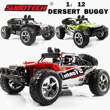 цена на RCtown Subotech BG1513 2.4G 1/12 4WD RTR High Speed RC Off-road Vehicle Car Remote Control Car With LED Light