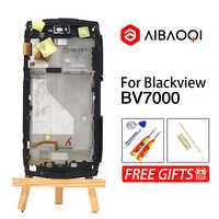 新オリジナル 5.0 インチのタッチスクリーン + 1920 × 1080 Lcd ディスプレイ + フレームアセンブリの交換 Blackview BV7000/ BV7000 プロ電話