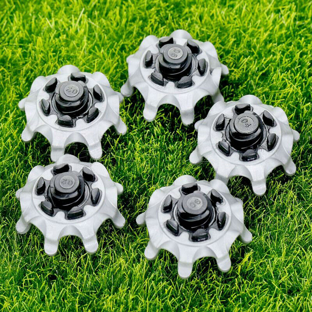 14Pcs Golf Shoe Spikes Fast Studs Tri-Lok Golf Shoes/Spikes Pins Ultra Thin Cleats Accessories For Footjoy New Dropshipping