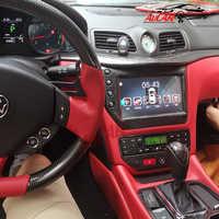 """AuCAR 9 """"Android 8,1 DIN Auto multimedia radio Stereo für Maserati GT/GC GranTurismo 2007 - 2017 GPS navigation auto DVD player"""