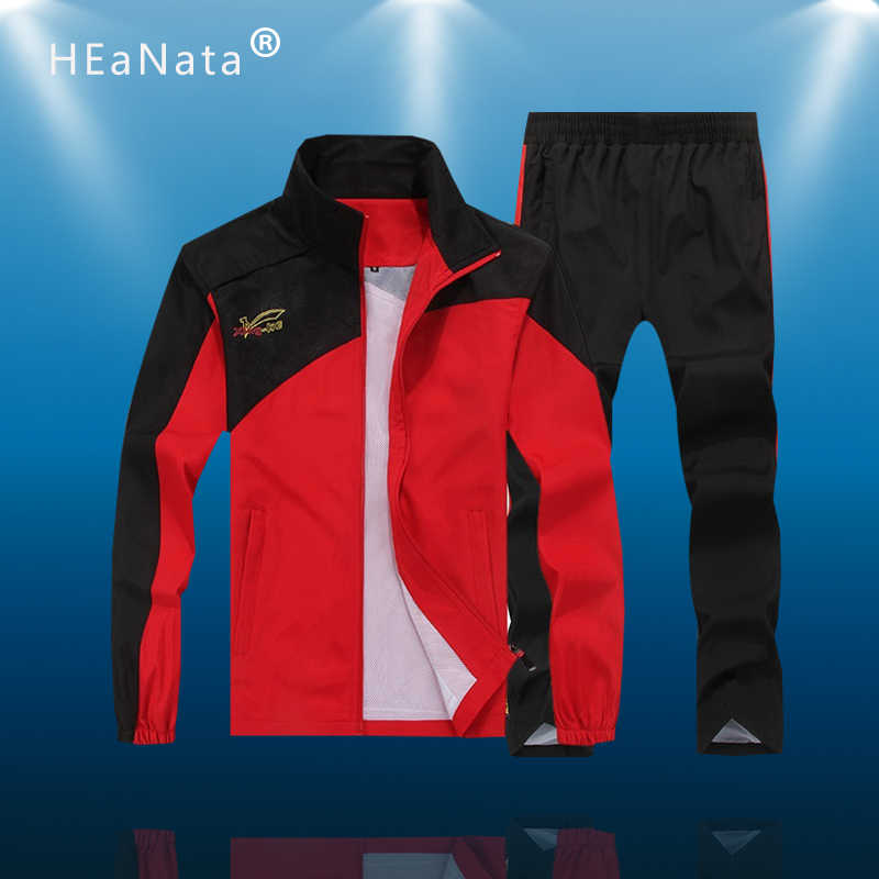 Nieuwe Mannen Training Sport Past Gym Sets Running Sets Mannen Sportwear Jogging Fitness Pakken Warm Running Rits Trainingspakken Man