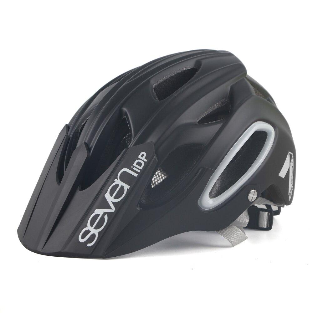 Seven MTB Bike Helmet Ultralight Profession Road Bicycle Helmet Mountain Vtt Outdoor Off-Road Riding Safety Cap Men Cycling Hat