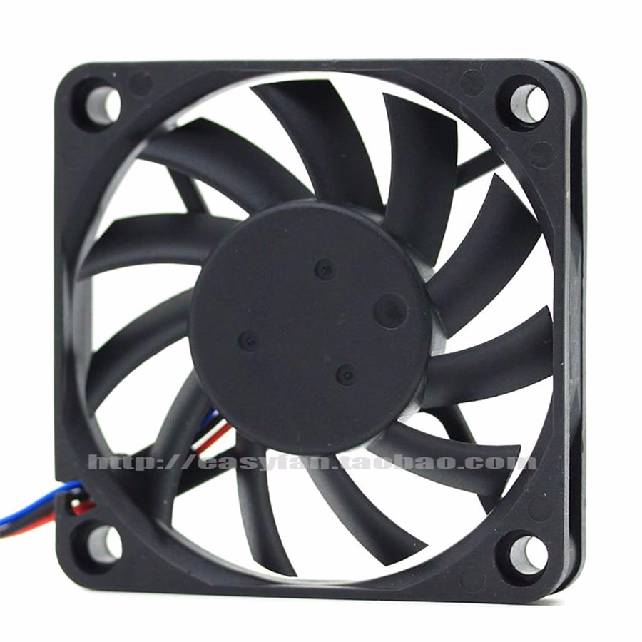 Delta  EFB0612HHA 6010 60MM 60x60x10MM Computer Case Fan Graphics Card  Cooling Fan 12V 0.25A With 3pin 4pin PWM