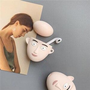 Image 3 - 3D חמוד יפן קריקטורה אחת אגרוף איש בסאיטמה אוזניות מקרים עבור Apple Airpods 1/2 סיליקון עמיד הלם הגנת אוזניות כיסוי