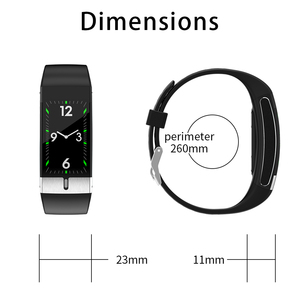 Image 5 - Body Temperature Monitor Smart Band ECG PPG Wristband Heart Rate Smart Watch Blood Pressure Measurement Sport Fitness Bracelet