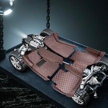 цена на Floor Mat Cars for Hyundai Solaris auto carpet mat carnival mat  Handmade cover foot mats interior mats for cars custom matts 3D