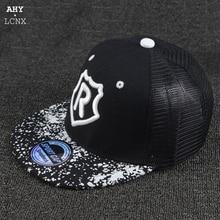 Snapback-Caps Baseball-Cap Letter Kids Summer Fashion Sun-Hats Embroidery Baby-Boys-Girls