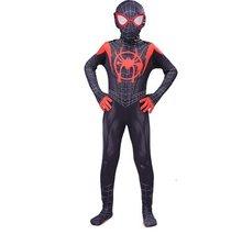 Fantasia de homem-mãe para crianças, cosplay de miles morales, gwen stacy, máscara para meninos e meninas