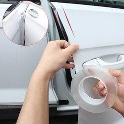 Car Styling Car Door Sill Protector Goods Multifunction Nano Tape Scratchproof Auto bummper sticker Car Door Edge Rim Protective