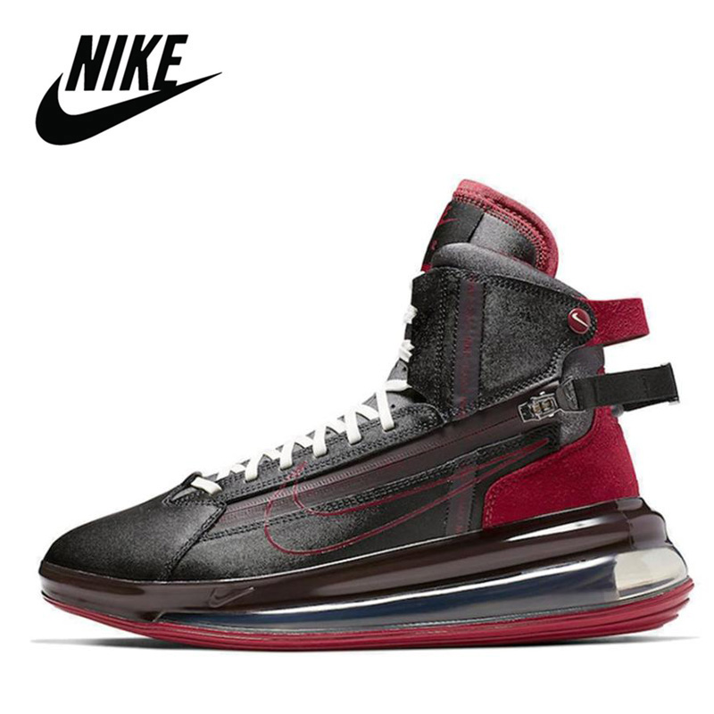<font><b>Air</b></font> <font><b>Max</b></font> 720 Men Original <font><b>Nike</b></font> <font><b>Air</b></font> <font><b>Max</b></font> 720 Saturn Black Red <font><b>Men's</b></font> Running <font><b>Shoes</b></font> Sneakers BV7786-001 image