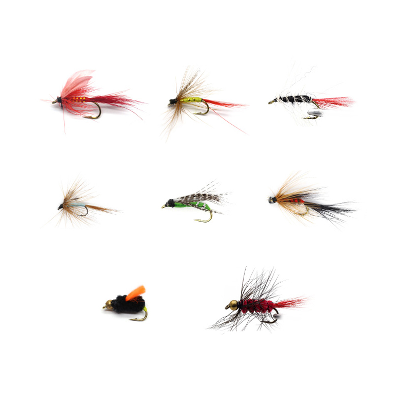 Mini Mouse Fly Fly Fishing Flies 6 flies Bass, Pike, Walleye, Trout, Muskie