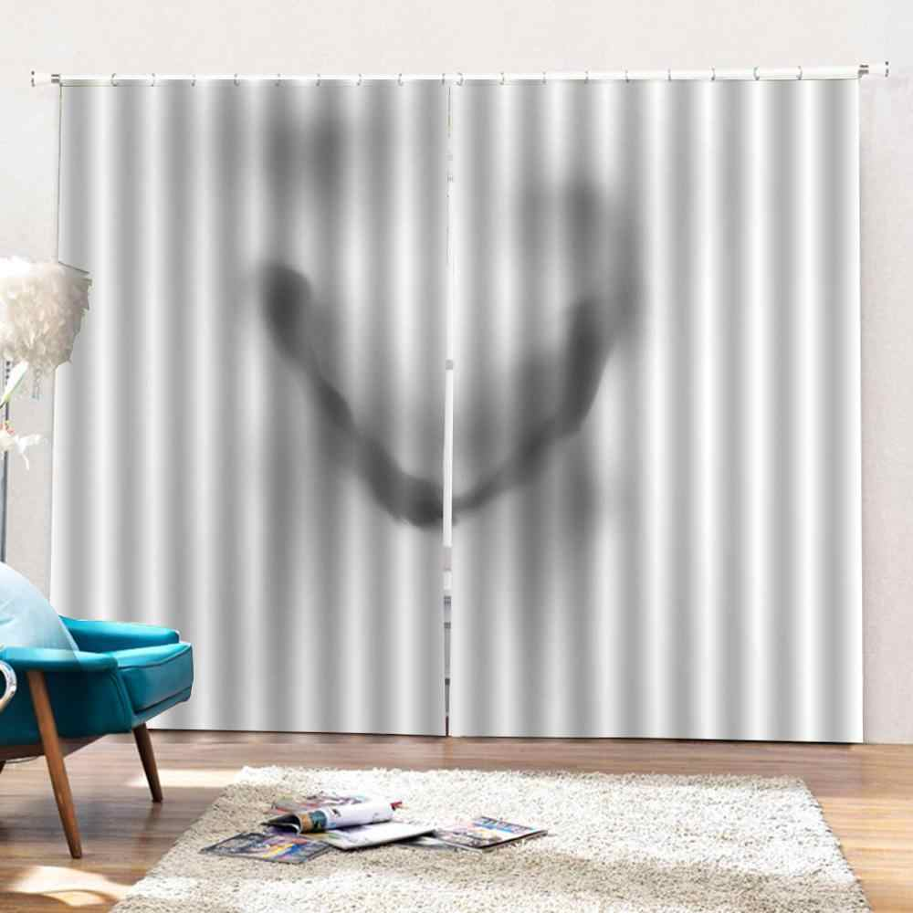 personality curtains  Customized 3D Blackout Curtains Living Room Bedroom Hotel Window curtains boy and girl friends curtains