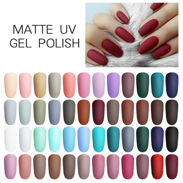 LILYCUTE UV Gel Polish Matte Nail Gel
