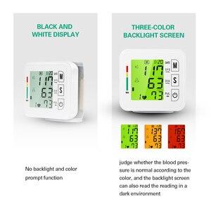 Image 2 - OLIECO Handgelenk Blutdruck Monitor USB Aufladbare Digitalen Blutdruckmessgerät Englisch Stimme 3 Hintergrundbeleuchtung Erinnern 2 Benutzer Speicher