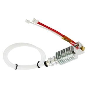 Image 3 - Bijgewerkt Recht type V5 J head voor ANCYUBIC I3 Mega 3D Printer Accessoires 0.4mm Nozzle 12V heater