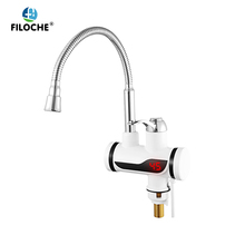 Kitchen Water Heater Cold Heating Faucet Instantaneous Water Heater Tap Instant Hot Water Faucet Heater EU Plus