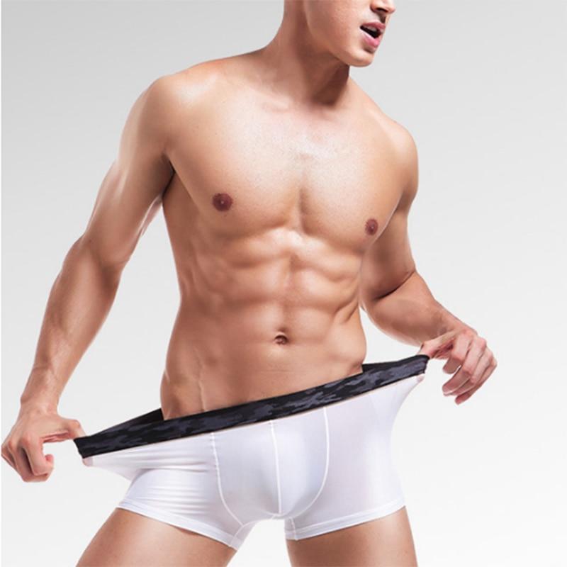 Panties  Ice Silk Boxershorts Sommer Herren Underwear Atmungsaktive Unterhose