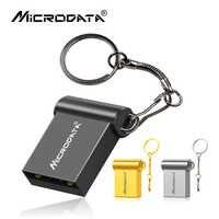 Super mini usb 2,0 flash drive 64gb 32gb 16gb 8gb capacidad real unidad flash usb lápiz de memoria usb a prueba de agua de la pluma de disco U