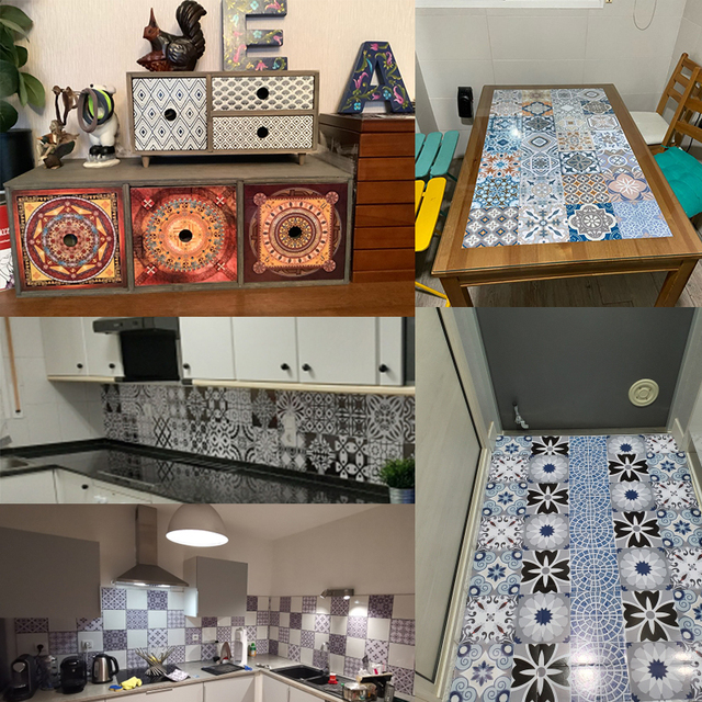 Arabic Style Mosaic Tile Stickers 8