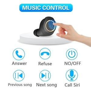 Image 3 - True wireless bluetooth headset Bluetooth 5.0 headphones Waterproof Mini earbuds with Mic Stereo Touch Control Handfree earphone
