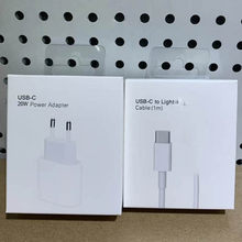 Original 20W For iphone 12 ChargerUSB C C2L Adapter Travel PD fast charger QC 3.0 Cable for iPhone 12 mini For iPhone 11 Huawei