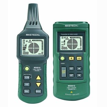 MASTECH MS6818 Exquisite Cable Detecting Instrument Set Cable Detector Prospecting Instrument digital mastech ms6818 advanced wire tester tracker multi function cable detector 12 400v pipe locator meter with blacklight
