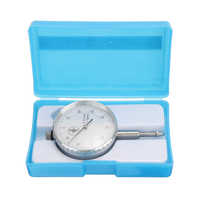 White-face Dial Test Indicator Gauge 0-10mm 58mm Dia. For Gear Backlash Measuring Tool Mayitr