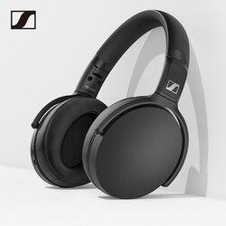 Sennheiser HD 350BT Wireless Headphone Bluetooth 5.0 Earphone Sport Gaming Headset Deep Bass Music Foldable with Mic Fast Charge