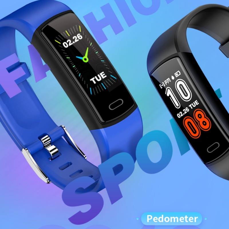 Fitness-Tracker Music-Control-Band Sleep-Monitoring Sweatproof Smart-Watch Multifunctional