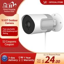 YI çok açık IP kamera tam HD 1080p SD kart güvenlik gözetleme kamerası hava koşullarına dayanıklı gece görüş YI bulut YI IOT uygulaması