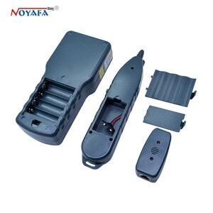 Image 5 - Тестер сетевого телефонного кабеля NF_8200 LCD LAN тестер RJ45 Кабельный тестер Ethernet кабельный трекер