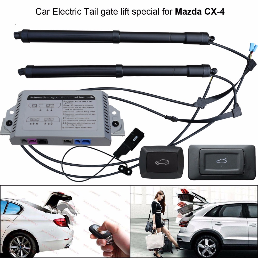 Car Car Electric Tail Gate Lift Special For Mazda CX-4 CX4 Easily For You To Control Trunk