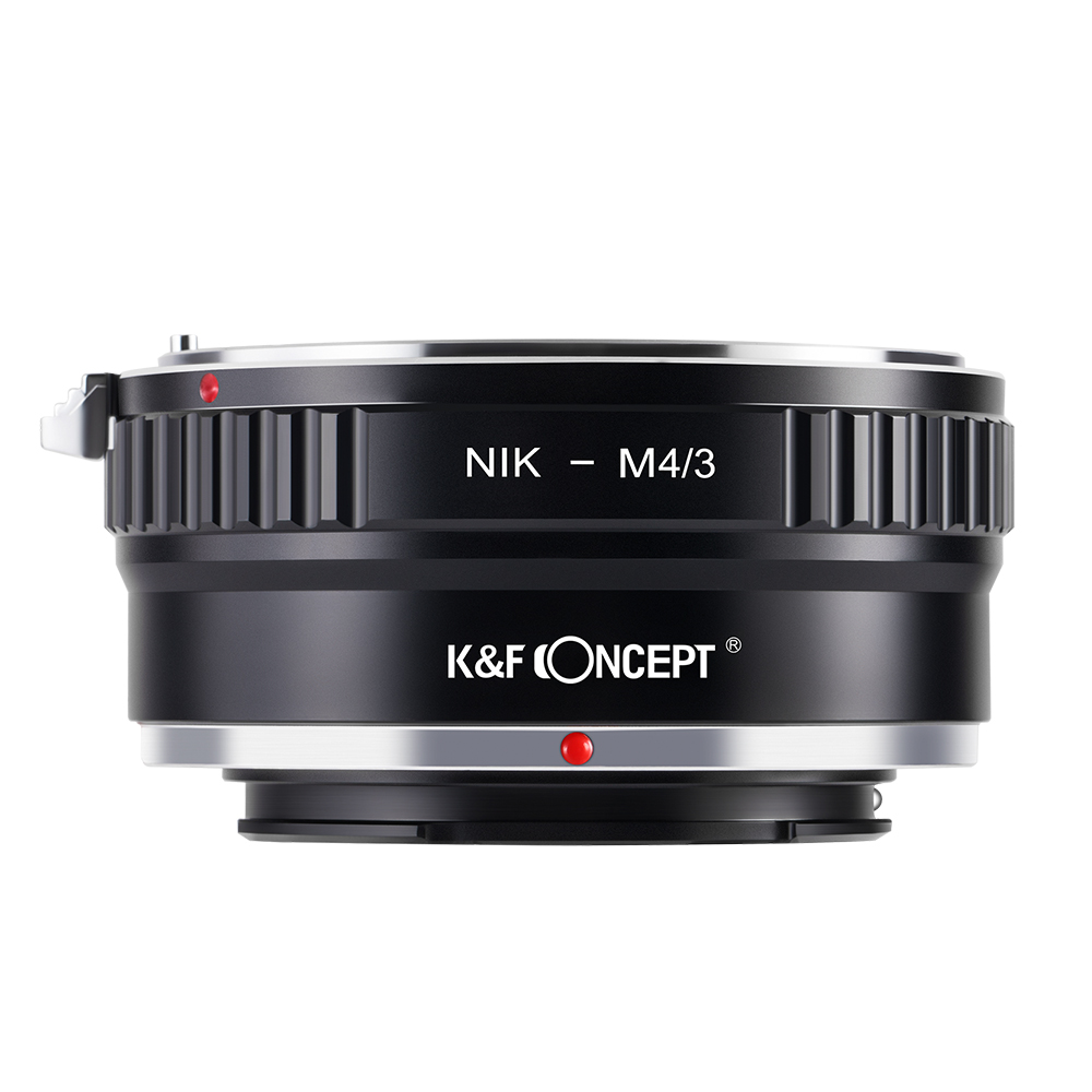 K&F CONCEPT Lens Mount Adapter Ring for Nikon AI Lens (to) fit for Olympus Panasonic Micro 4/3 M4/3 Mount Camera Body image