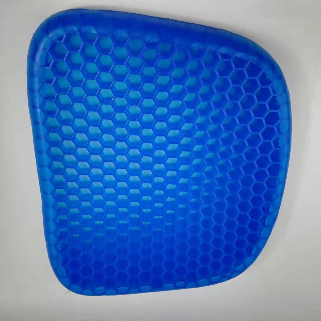 Silicone Honeycomb Flex 3D Ice Pad Egg Sitting Gel Cushion Non-slip Soft Comfortable Home Massage Office Chair Cushion Carpet