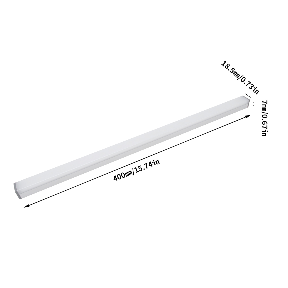 Image 2 - BORUiT 40 см 40 светодиодная подсветка под шкаф для кухни спальни с регулируемой яркостью ночной Светильник USB Перезаряжаемый беспроводной Шкаф светильник s-in Подшкафные лампы from Лампы и освещение on AliExpress