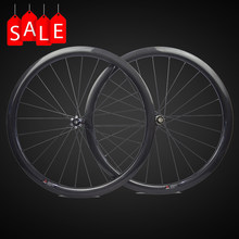 Disc brake full carbon wheels with Novatec D411SB D412SB straight pull hub disc carbon wheels 30mm 35mm 38mm 45mm 50mm 55mm 60mm