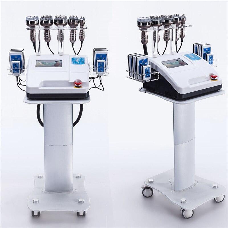 2019HOT VENDITA!!! Liposuzione ad ultrasuoni 40K Cavitazione Radio Frequency Vuoto Bipolare RF Che Dimagrisce Macchina Attrezzature di Bellezza