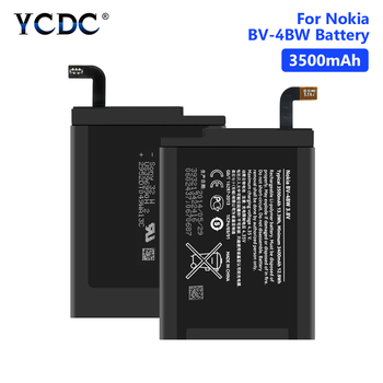 3.8V 3500mAh BV-4BW BV 4BW Phone Batteries Replacement Lithium Bateria For Nokia Lumia 1520 MARS Phablet RM-937 Bea Lumia1520