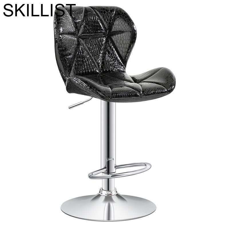 Barstool Sandalyeler Hokery Sandalyesi Stuhl Sgabello Stoelen Cadir Leather Stool Modern Tabouret De Moderne Cadeira Bar Chair