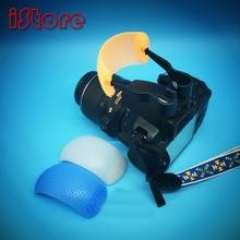 Камера горячий башмак интерфейс мягкое световое устройство для Canon для nikon для pentax