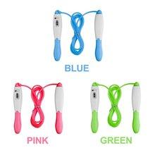 Подсчет скакалки спортивный фитнес инструмент для упражнений быстрая скорость подсчет скакалка синий зеленый розовый