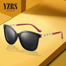 YZRS Brand Designer Cat Eye Polarized Sunglasses Womens Lady Elegant Gradient Sun Glasses Female Driving Eyewear Oculos De Sol